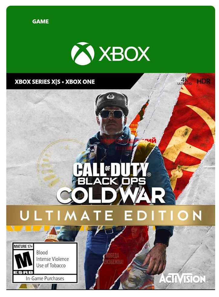 Activision Call Of Duty Black Ops Cold War Ultimate Edition Xbox X Game