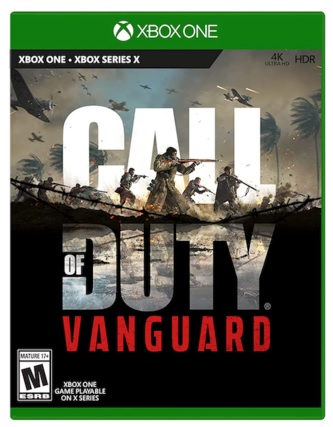 Activision Call Of Duty Vanguard Xbox One Game