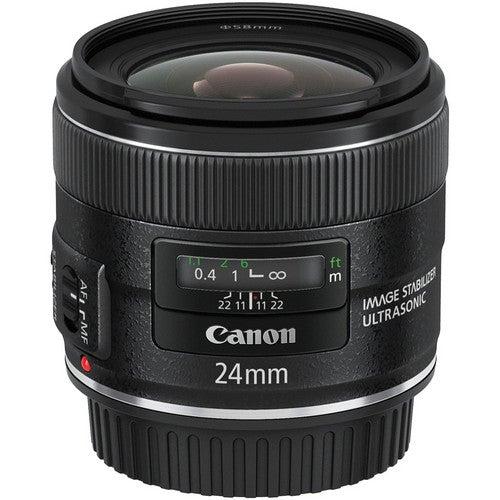 Canon EF 24mm F2.8 IS USM Refurbished Lens