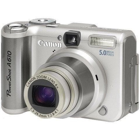 Canon Powershot A610 Digital Camera