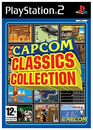 Capcom Classics Collection PS2 Playstation 2 Game
