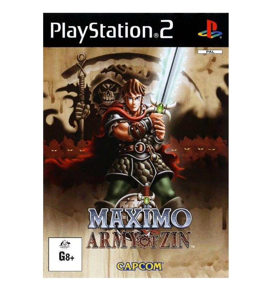 Capcom Maximo Vs Army Of Zin Refurbished PS2 Playstation 2 Game