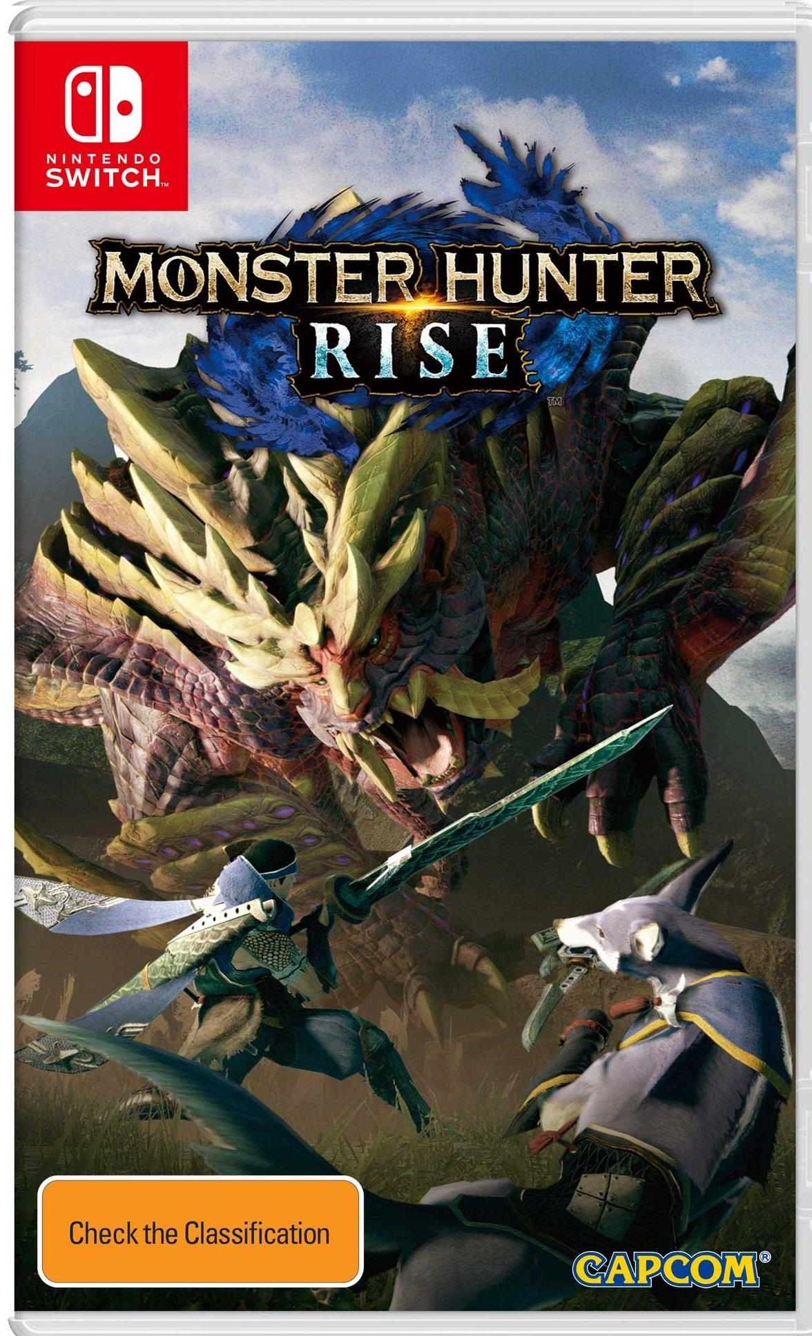 Capcom Monster Hunter Rise Nintendo Switch Game