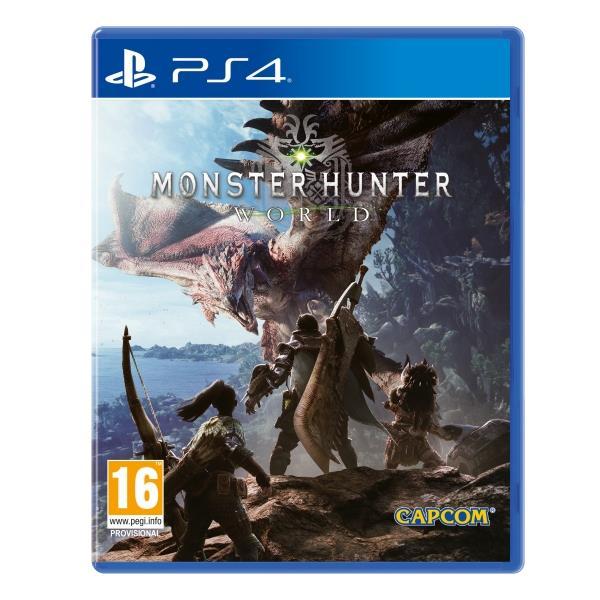 Capcom Monster Hunter World PS4 Playstation 4 Game