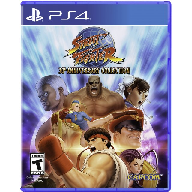 Capcom Street Fighter 30th Anniversary Collection PS4 Playstation 4 Game