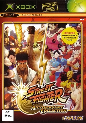 Capcom Street Fighter Anniversary Collection Xbox Game