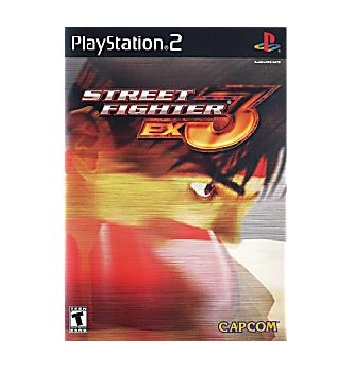 Capcom Street Fighter Ex3 PS2 Playstation 2 Game