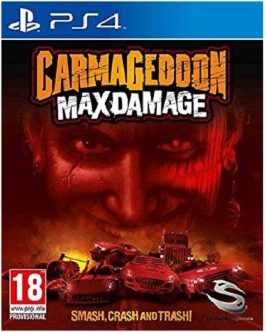 THQ Carmageddon Max Damage PS4 Playstation 4 Game