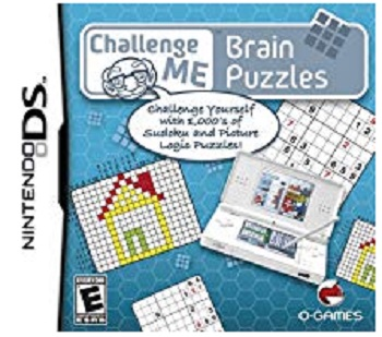 OGames Challenge Me Brain Puzzles Nintendo DS Game