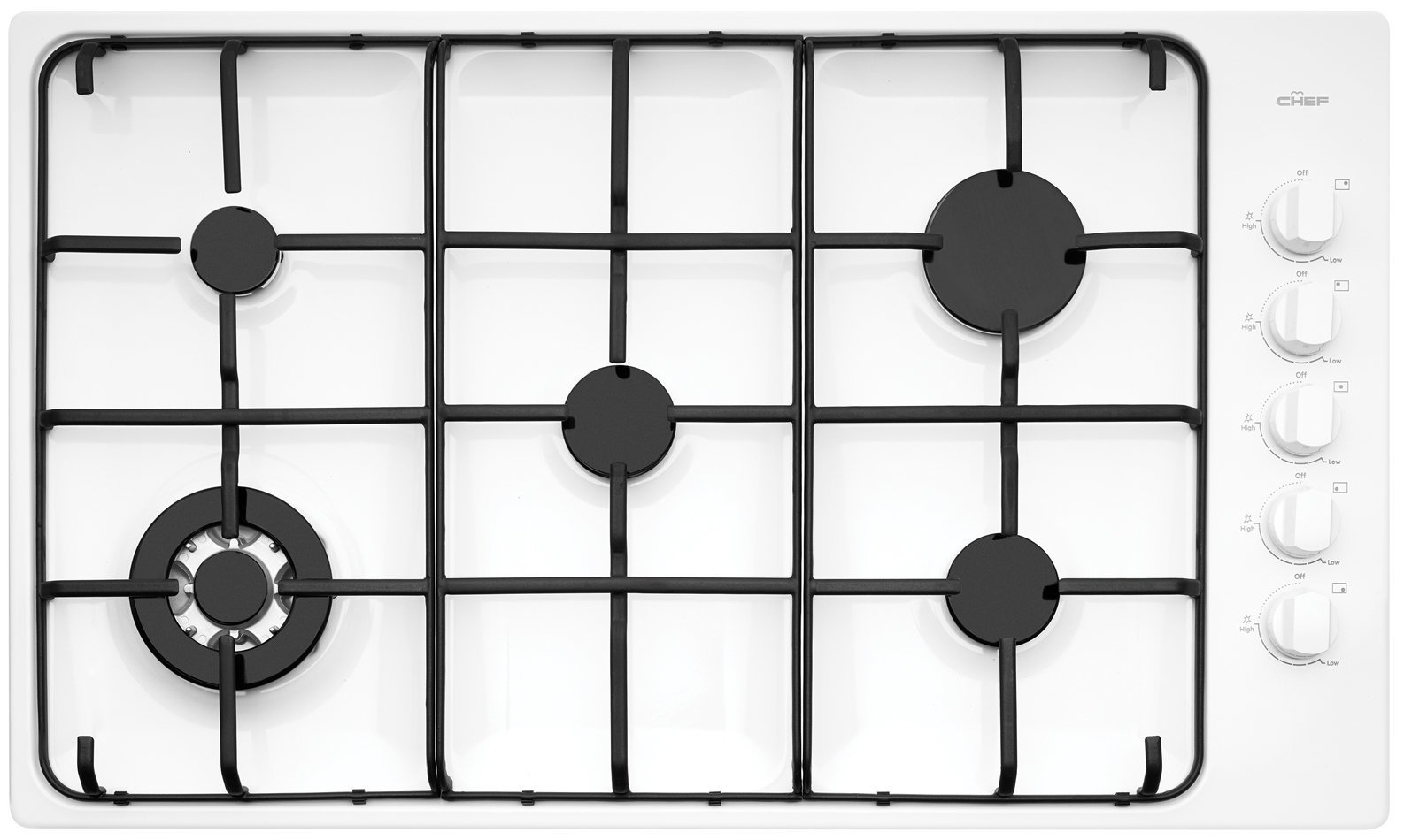 Chef CHG956WB Kitchen Cooktop