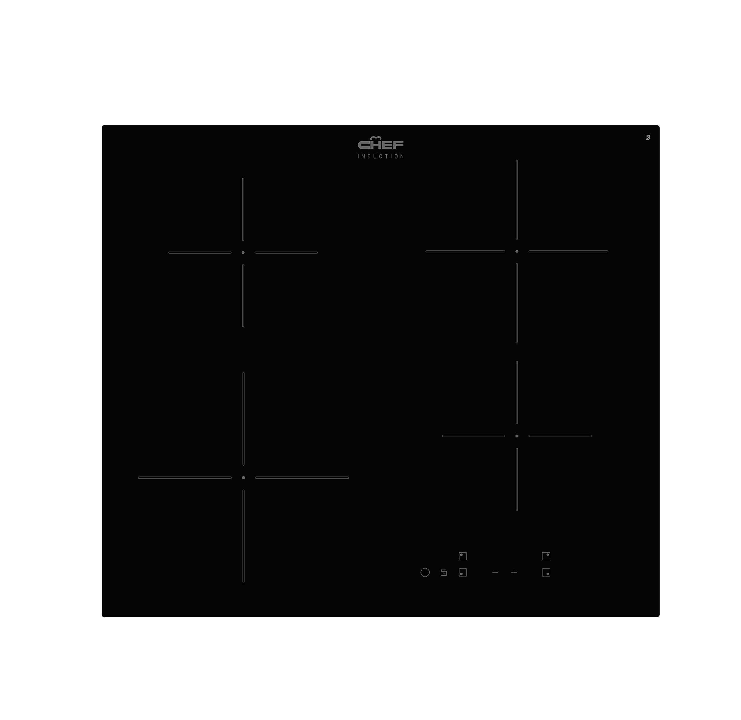 Chef CHI644 Kitchen Cooktop