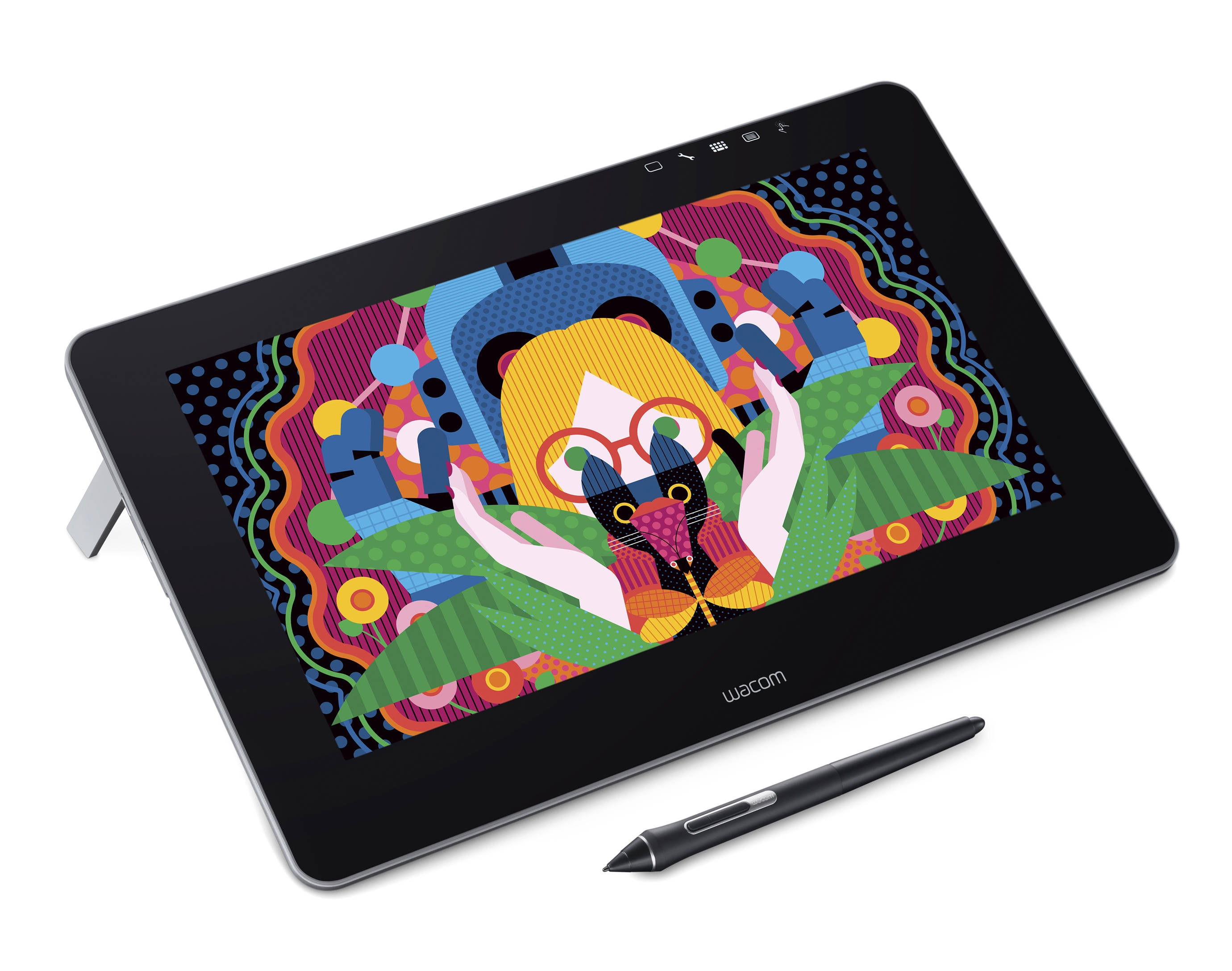Wacom Cintiq Pro 13 inch Creative Pen and Touch Graphic Tablet