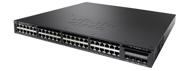 Cisco Catalyst WS-C3650-48PQ-L Networking Switch