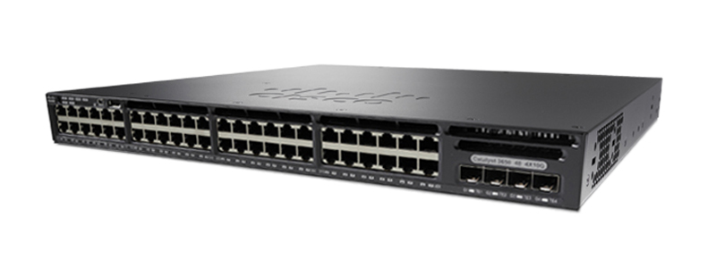 Cisco Catalyst WS-C3650-48TQ-E Networking Switch