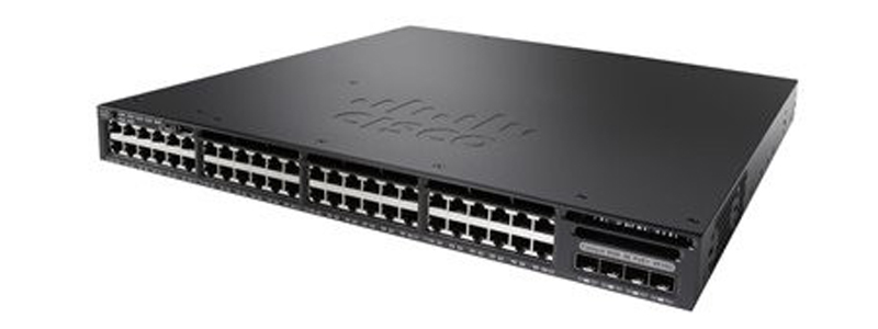 Cisco Catalyst WS-C3650-48TS-S Networking Switch