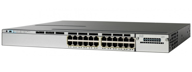 Cisco Catalyst WS-C3850-24P-L Networking Switch