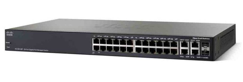 Cisco SG350-28 Networking Switch