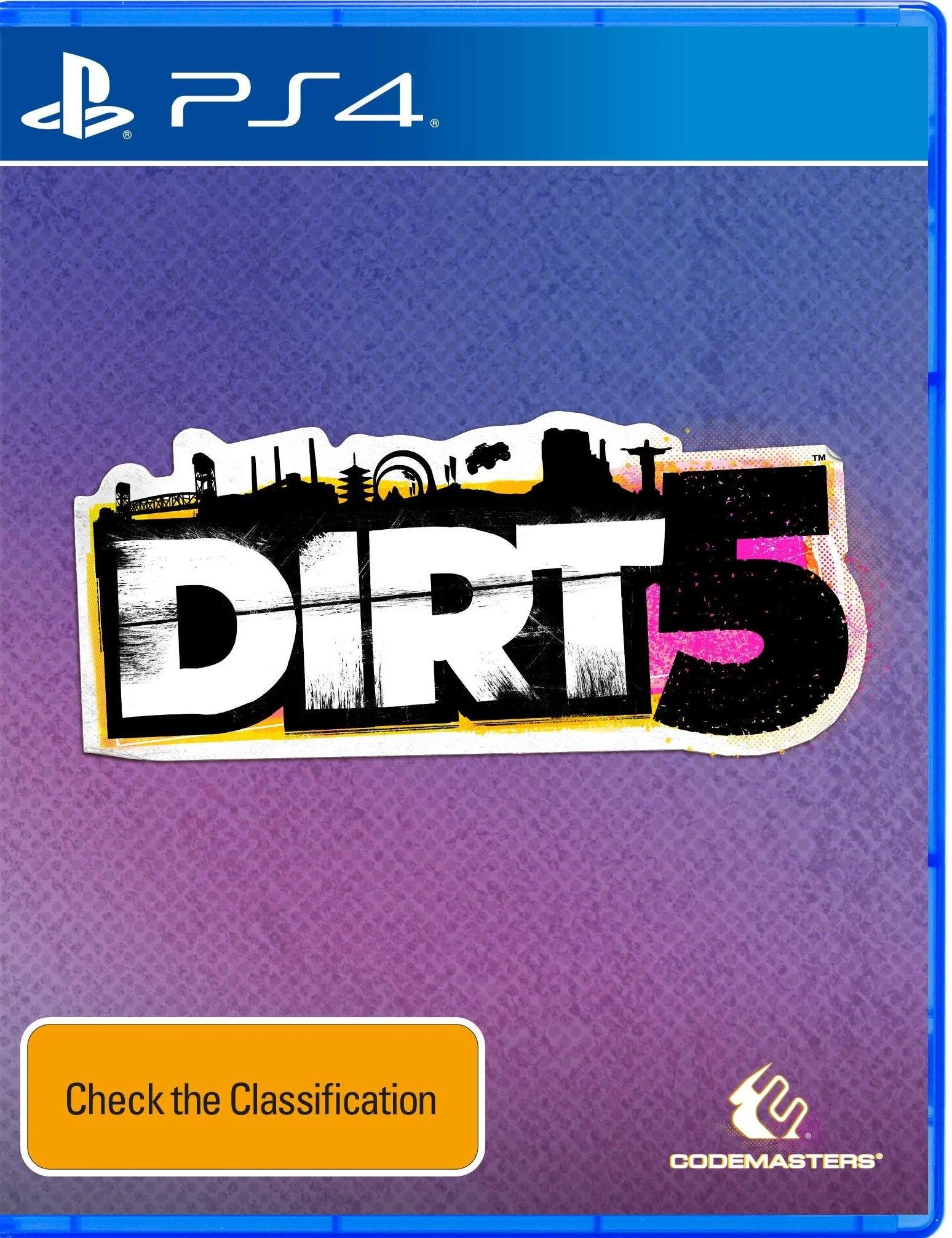 Codemasters DiRT 5 PS4 Playstation 4 Game