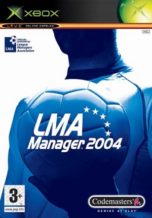 Codemasters LMA Manager 2004 Xbox Game