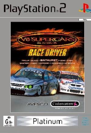 Codemasters V8 Supercars Race Driver Platinum PS2 Playstation 2 Game