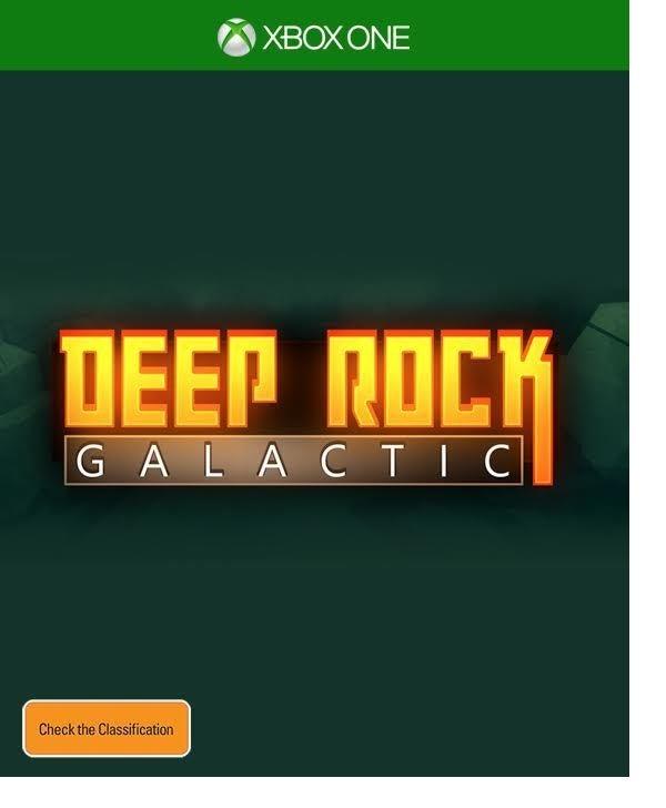 Coffee Stain Studios Deep Rock Galactic Xbox One Game