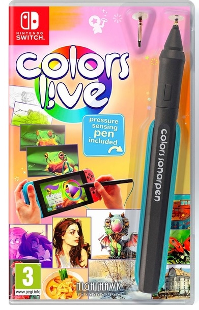 Nighthawk Interactive Colors Live Nintendo Switch Game