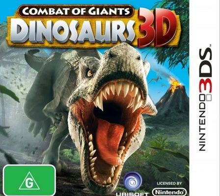 Ubisoft Combat Of Giants Dinosaurs 3D Refurbished Nintendo 3DS Game