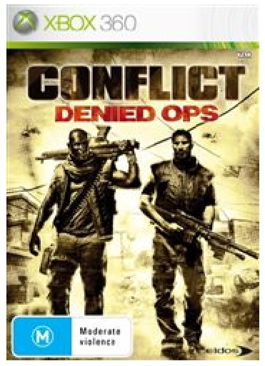 Eidos Interactive Conflict Denied Ops Refurbished Xbox 360 Game