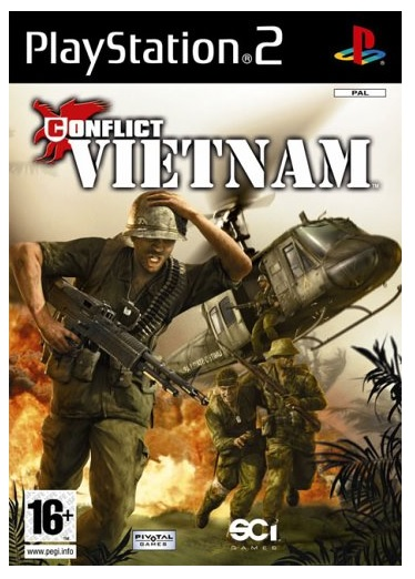 Global Star Conflict Vietnam Refurbished PS2 Playstation 2 Game