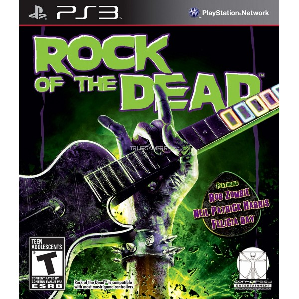 Conspiracy Entertainme Rock of the Dead PS3 Playstation 3 Game