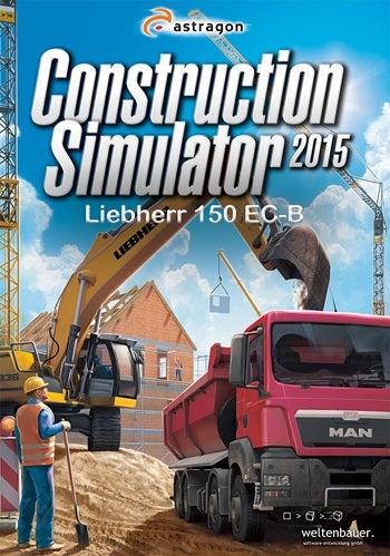 Astragon Construction Simulator 2015 Liebherr 150 ECB PC Game