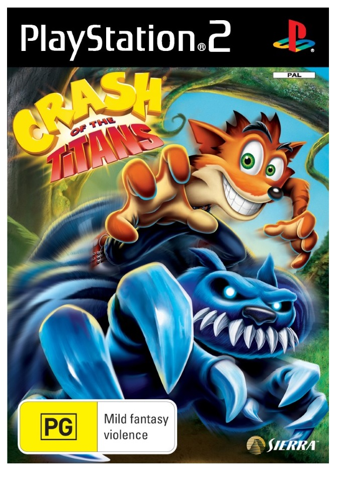 Vivendi Crash Of The Titans Refurbished PS2 Playstation 2 Game