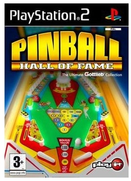 Crave Entertainment Pinball Hall of Fame PS2 Playstation 2 Game