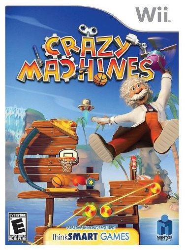 Novita Crazy Machines Nintendo Wii Game