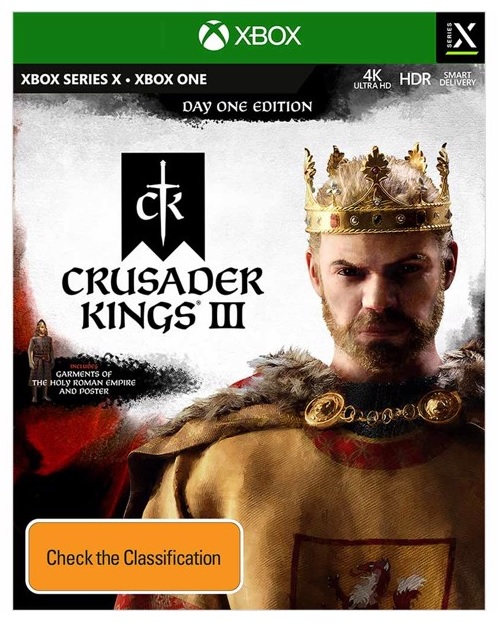 Paradox Crusader Kings III Day One Edition Xbox Series X Game