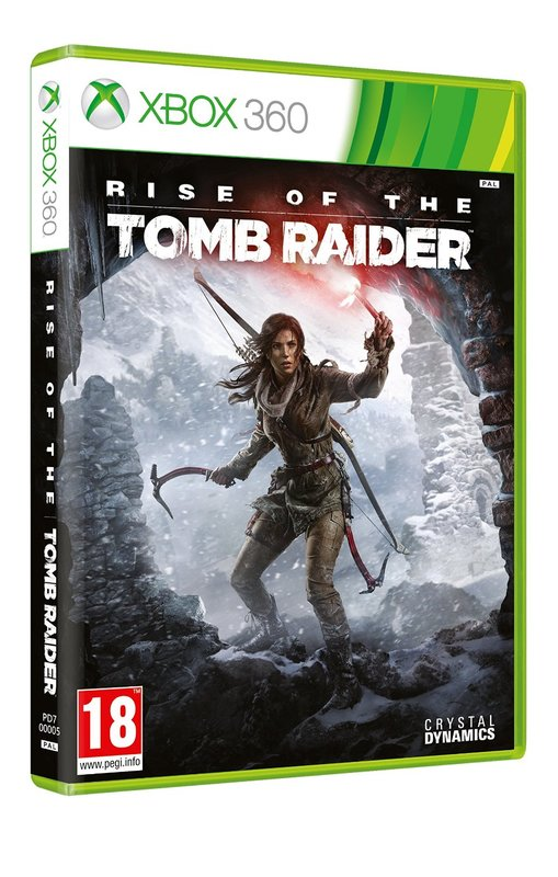 Crystal Dynamics Rise of the Tomb Raider Xbox 360 Game