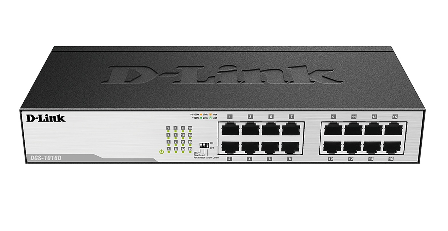 D-Link DGS-1016D Networking Switch