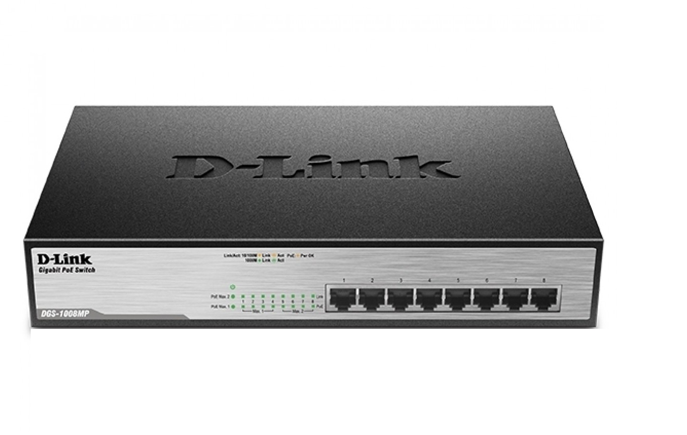 D-Link DGS1008MP Networking Switch