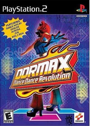 Konami DDR Max Dance Dance Revolution PS2 Playstation 2 Game