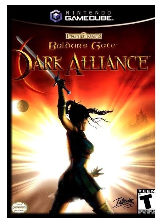 DSI Baldurs Gate Dark Alliance GameCube Game