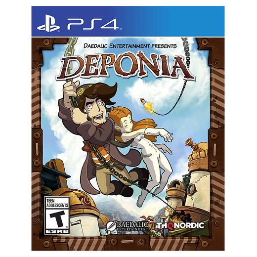 Daedalic Entertainment Deponia PS4 Playstation 4 Game