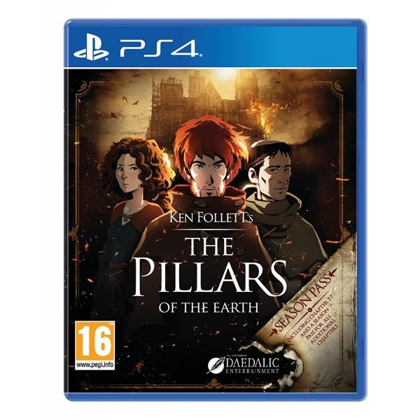 Daedalic Entertainment The Pillars Of The Earth PS4 Playstation 4 Game