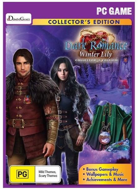 Big Fish Games Dark Romance Winter Lily Collectors Edition PC Game