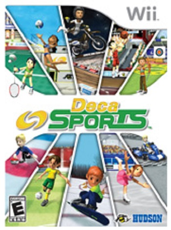 Hudson Soft Deca Sports Nintendo Wii Game