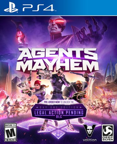 Deep Silver Agents of Mayhem Day 1 Edition PS4 Playstation 4 Game