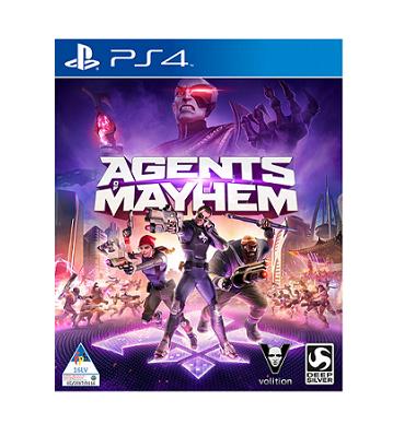 Deep Silver Agents of Mayhem PS4 Playstation 4 Game