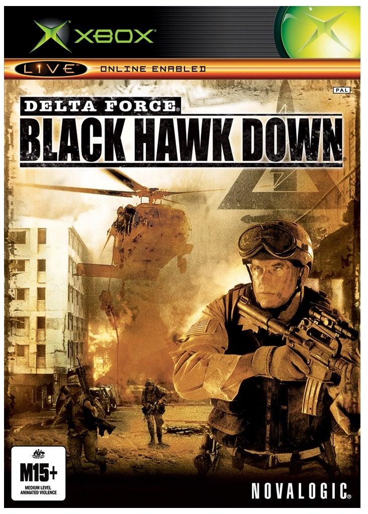 NovaLogic Delta Force Black Hawk Down Xbox Game