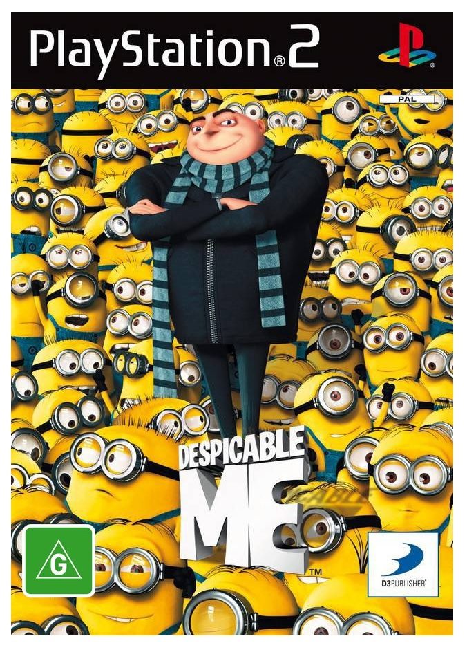 D3 Despicable Me Refurbished PS2 Playstation 2 Game