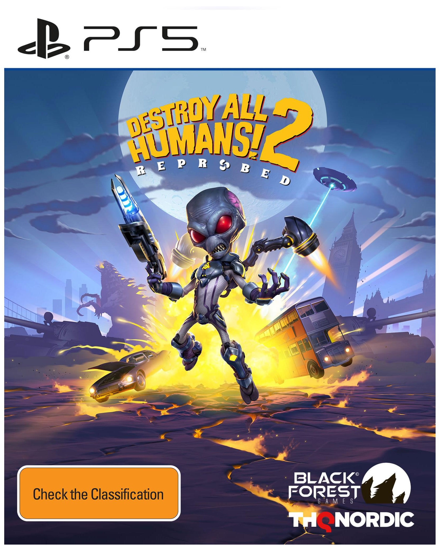 THQ Destroy All Humans 2 Reprobed PS5 PlayStation 5 Game