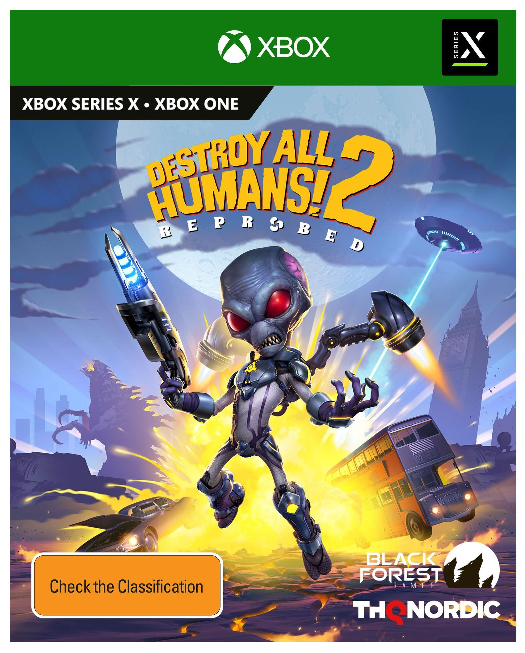 THQ Destroy All Humans 2 Reprobed Xbox Series X Game